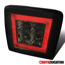 For 09-18 Nissan 370Z Smoke Rear LED Fog Tail 4th Brake Lights Reverse Lamp