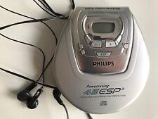 Philips Digital Dynamik Bass Boost tragbarer CD Player  45 ESP 3 Discman Retro