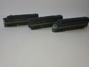 Athearn F7 ABA  Reading Blue Box Diesels PWD/DMY/PWD