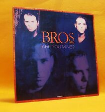 "7"" Single Vinyl 45 Bros Are You Mine ? 2TR 1991 (MINT) Synth Pop"