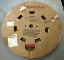 "Raychem 1/8"" x 300' Red Heat Shrink Tubing"