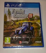 Farming Simulator 15 PS4 New Sealed UK PAL Version Game Sony PlayStation 4 2015