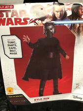 Star Wars Kylo Ren Halloween Costume Size Youth Small 4-6 Ys Rubies Nip