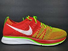 Nike Flyknit Trainer Mens Size 7.5 Shoes Red Green White Unpadded 532984 631