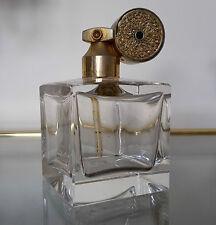 Marcel Franck Kristallparfumflakon Made in France 60 er Jahre