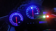 BLUE CBR900rr fireblade 97-98  led dash clock conversion kit lightenUPgrade