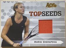 2005 Ace Authentic MARIA SHARAPOVA Match-Worn Jersey Top Seeds