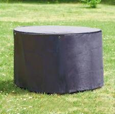 Gartentisch Abdeckung Gartenmöbel Schutzhülle RUND ø 120cm x H 70cm Braun