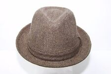 Stetson Brown Fedora Hat SWSTF868 Size Large NWT