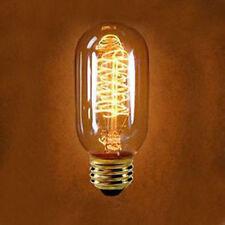 HOT!!! Edison Weinlese Antike E27 Glühlampen 40W Reproduktion T45 Karaoke