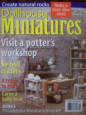 DOLLHOUSE MINIATURES MAGAZINE - ISSUE: NOV 2001