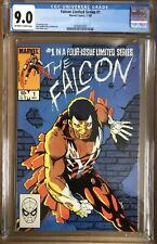 Falcon Limited Series #1 (1983) CGC 9.0 Captain America Avengers Marvel Comics