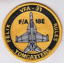 VFA-31 TOMCATTERS F/A-18E FELIX RULES SHOULDER PATCH