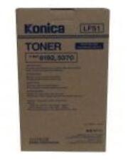 original Konica lfs1 Tóner U-BIX 6192 5370 Negro Black ubix