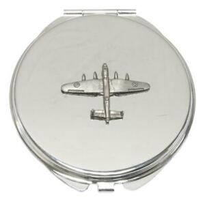 Lancaster Bomber Compact Mirror Handbag Gift With Free Engraving 213
