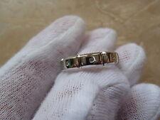 Jeff Cooper Platinum Diamond 5mm Band Ring.  Size 8