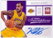 Robert Sacre 12-13 Panini Elite Rookie Inscriptions AUTOGRAPH LA Lakers #16