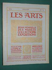 Les Arts revue mensuelle n° 31 Juillet 1904 Collection GARRAND Musée Florence