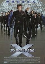 X-Men 2 - Original Japanese Chirashi Mini Poster B - Hugh Jackman X2