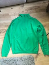 super mens green sweatshirt size small