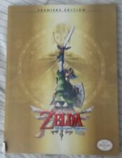 The Legend of Zelda Skyward Sword Game Guide PreMiere Edition NO POSTER