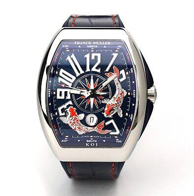 Franck Muller Vanguard KOI Limited Wristwatch V45 YT SC DT AC BL