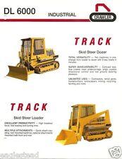 Equipment Brochure - Icc - Dl 6000 - Track Skid Steer Dozer Loader (E2546)