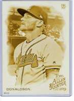 Josh Donaldson 2019 Allen and Ginter 5x7 Gold #146 /10 Braves