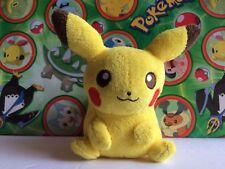 Pokemon Center Pikachu Canvas 2010 Plush Pokedoll stuffed figure toy USA Seller