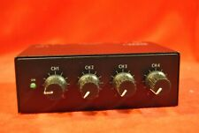 AMPLI CASQUE STEREO - 4 SORTIES - IMG STAGE LINE PPA-4