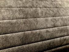 Meterware ORIGINAL Alcantara Stoff tief schwarz Cover gesteppt 142cm breit!