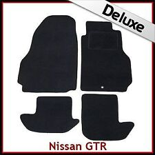 2014 - per NISSAN NAVARA IV in velour nero Tappetini personalizzati..