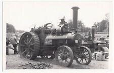 Fowler Traction Engine 7942 of 1899, TA 626 at Early Rally PC Size BW Photo