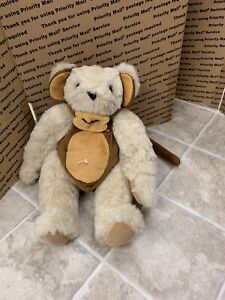 "Vermont Teddy Bear Company 16"" With Monkey Suit Outfit"