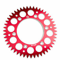 Primary Drive Rear Aluminum Sprocket 48 Tooth Red for Honda Off-Road