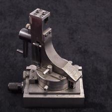 Fluid Motion Wheel Dresser from J & S Tool Model RFG-50 w/ Micrometer Base