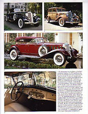 1933 Chrysler + Imperial + DeSoto Article - Must See !!