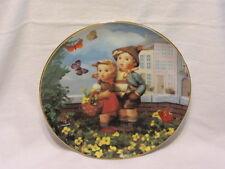 M J Hummel Surprise Little Companions Danbury Mint Collection Plate Coa