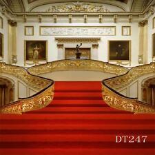 10X10FT Red Carpet Vinyl Backdrop LB Photography Props Photo Background DT247