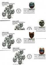 1834-37 Indian Masks Four Artmaster FDCs