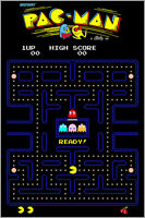 Pac-Man Authentic Arcade Marquee 24x36 Namco Video Game Giclee Artwork Poster