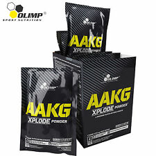 OLIMP AAKG XPLODE POWDER -Strong Muscle Pumps - Pre-Workout Nitric Oxide Booster