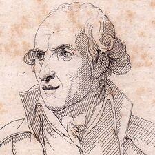 Portrait XIXe Antonio Canova Sculpteur Sculpture Possagno Italie 1821