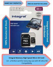 32GB Scheda Di Memoria Micro SD Classe 10 U3 Samsung Galaxy S3 i9300, S3 Neo, S3