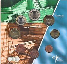 STUTTGART euroset 2004  KNM , met de Duitse Euro's [ -F- Stuttgart ] 1.000 stuks