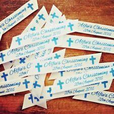 50 Pieces Personalised Ribbon Table Confetti Decoration - Wedding, Birthday