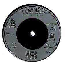 "Jonathan King - The Happy People Song - 7"" Record Single"