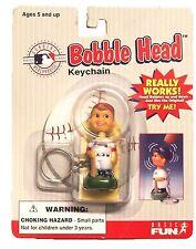 1997 MLB Baseball Atlanta Brave Bobble Head Keychain