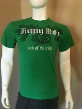 Flogging Molly Luck of the Irish T-Shirt, Celtic Punk Rock, Green, Men's Size M