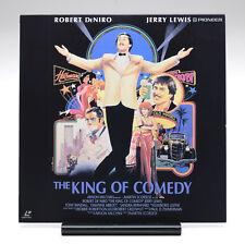 THE KING OF COMEDY Widescreen Japan LD Martin Scorsese Robert DeNiro Jerry Lewis